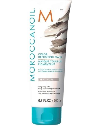 Moroccanoil Depositing Platinum Renk Tazeleyeci Bakım Maskesi 200ml Renksiz
